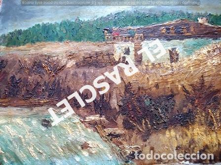 Arte: PINTURA OLEO SOBRE TELA DE JORDI VALLEJO - CASA EN EL CAMPO - AÑO 1979- - Foto 9 - 236780690