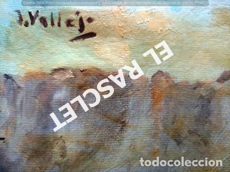 Arte: PINTURA OLEO SOBRE TELA DE JORDI VALLEJO - CASA EN EL CAMPO - AÑO 1979- - Foto 11 - 236780690