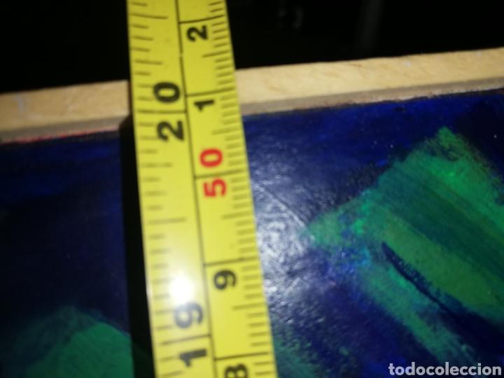 Arte: Oleo madera arte urbano.. Comprado exposición NewYork.. Agotando todas las obras duro una semana. - Foto 5 - 236883245