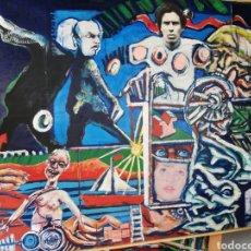 Arte: OLEO MADERA ARTE URBANO.. COMPRADO EXPOSICIÓN NEWYORK.. AGOTANDO TODAS LAS OBRAS DURO UNA SEMANA.. Lote 236883245
