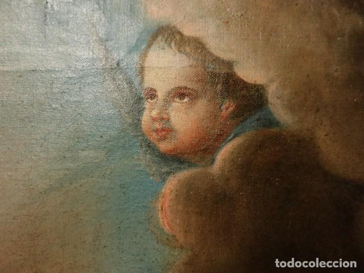 Arte: Bodegón de cerámica y frutas. Óleo sobre tabla. Cataluña, med. S. XX. Mide 40 x 50 cm. - Foto 14 - 236458095