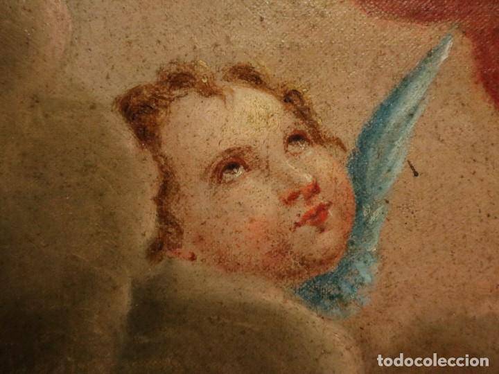Arte: Bodegón de cerámica y frutas. Óleo sobre tabla. Cataluña, med. S. XX. Mide 40 x 50 cm. - Foto 16 - 236458095