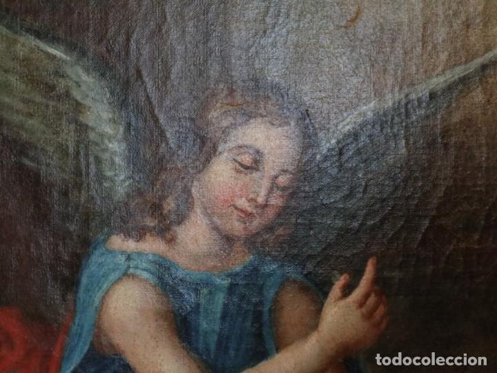 Arte: Bodegón de cerámica y frutas. Óleo sobre tabla. Cataluña, med. S. XX. Mide 40 x 50 cm. - Foto 21 - 236458095