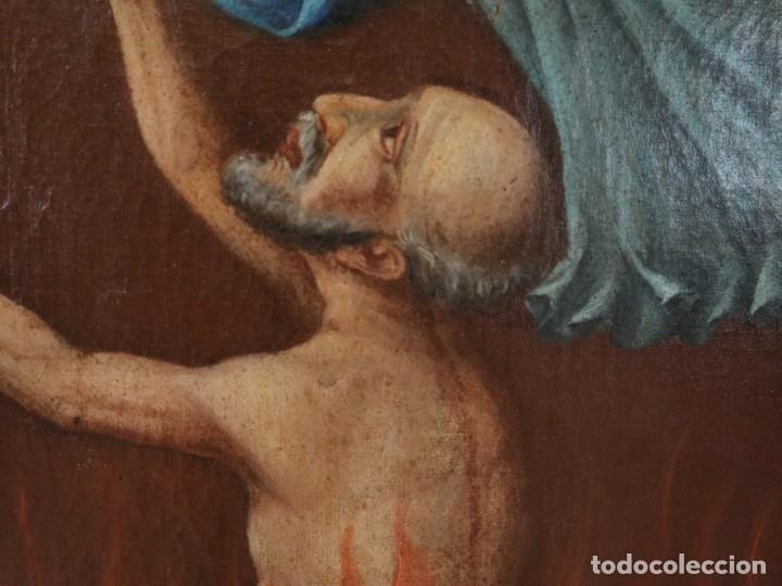 Arte: Bodegón de cerámica y frutas. Óleo sobre tabla. Cataluña, med. S. XX. Mide 40 x 50 cm. - Foto 28 - 236458095