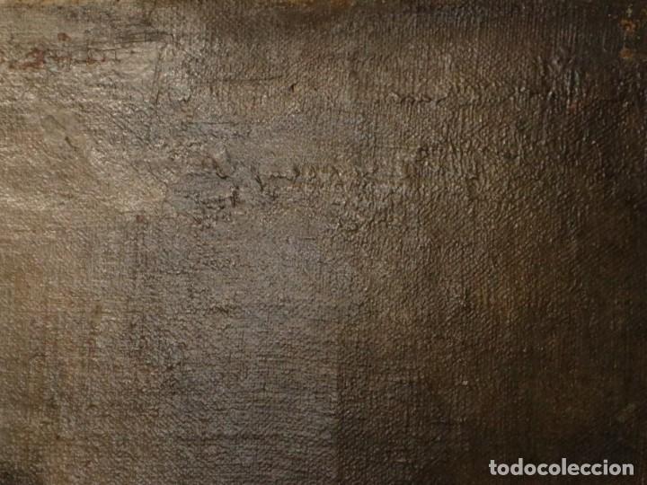 Arte: Bodegón de cerámica y frutas. Óleo sobre tabla. Cataluña, med. S. XX. Mide 40 x 50 cm. - Foto 32 - 236458095