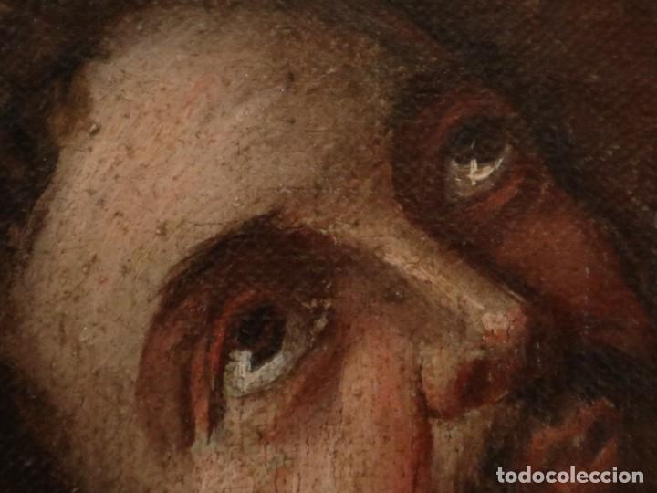 Arte: Bodegón de cerámica y frutas. Óleo sobre tabla. Cataluña, med. S. XX. Mide 40 x 50 cm. - Foto 33 - 236458095
