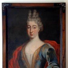 Arte: ESCUELA FRANCESA. ÓLEO SOBRE LIENZO. RETRATO MARIE ANNE DE BOURBON. SIGLO XVIII. Lote 237040155