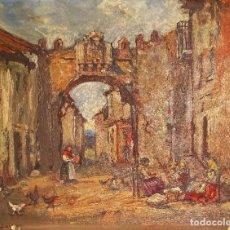 Arte: MONFORTE POR EMILIO POY DALMAU (MADRID 1876-1933). Lote 237108130