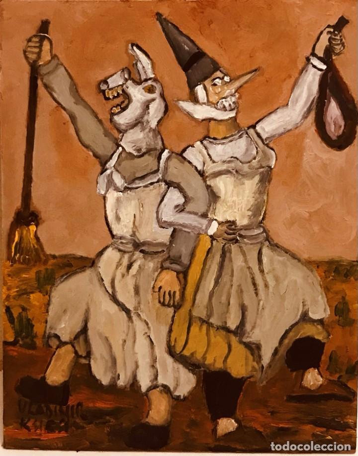 FESTA SARDINAS (10) (Arte - Pintura Directa del Autor)