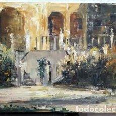 Art: OLEO SOBRE LIENZO APUNTE (SIN FIRMA) - CUADRO-256. Lote 237149295