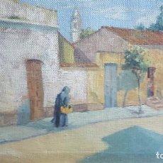 Arte: MACAYA LUIS (1888-1953) PINTOR HISPANO - ARGENTINO. OLEO SOBRE TELA. Lote 237204900