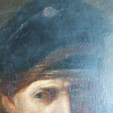 Arte: REMBRANDT VAN RIJN (1606-1669) SEGUIDOR DE PINTOR HOLANDÉS. OLEO S/TABLA. Lote 237205680