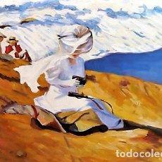 Arte: JOVEN EN LA PLAYA - SEGUIDOR DE SOROLLA ESCUEL VALENCIANA. Lote 237206665