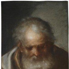 Arte: CABEZA DE APÓSTOL (BOCETO). CÍRCULO FRANCISCO DE HERRERA EL VIEJO (1576-1656). Lote 237314725
