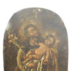 Arte: SAN JOSÉ CON EL NIÑO, ALTA ÉPOCA. Lote 237335620