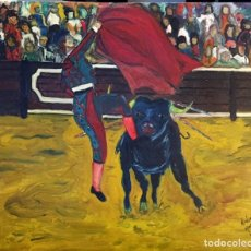 Arte: LA CORRIDA. Lote 237387425