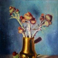 Arte: COBRE Y CARDOS RAFAEL OBIGOU 1903 - 1980. Lote 237393470