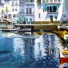 Arte: CADAQUES - FRANCESC SANCHEZ VILA - 1942. Lote 237397495