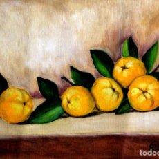 Arte: MEMBRILLOS OBRA DE GILABERTE. Lote 237475650