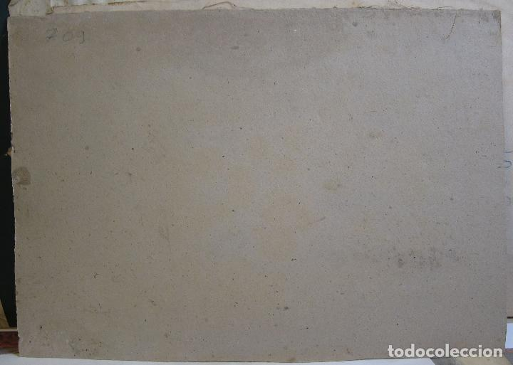 Arte: ESCENA ORIENTALISTA. OLEO SOBRE TELA. FIRMADO CON INICIALES. 32 X 45 CM - Foto 7 - 237478525