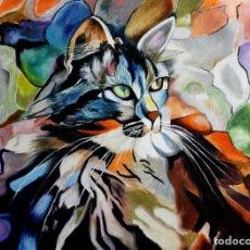 Arte: GATO OBRA DE GILABERTE. Lote 237485825