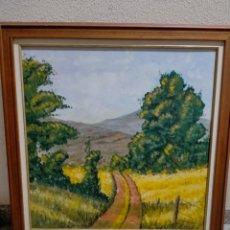 Arte: SOMBRA EN EL CAMINO. Lote 237816535