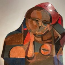 Arte: NASSIO BAYARRI ÓLEO SOBRE CARTÓN FIRMADO Y FECHADO. Lote 237828885