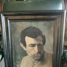 Arte: ÓLEO SOBRE LIENZO.FIRMADO POR ESTRELLA G Y B. DE CASTRO. 1922. Lote 237855905