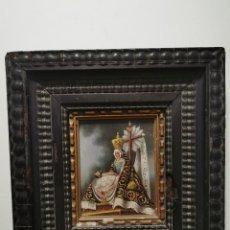 Arte: ÓLEO SOBRE COBRE. VIRGEN DE LAS ANGUSTIAS. GRANADA. SIGLO XVIII-XIX. Lote 238125670