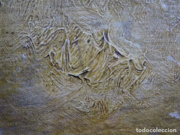 Arte: ÓLEO SOBRE TELA ANONIMO DE FINALES DEL S. XIX.ESCUELA CATALANA DE GRAN CALIDAD.ELISEO MEIFREN ? - Foto 13 - 238143070