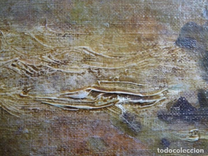 Arte: ÓLEO SOBRE TELA ANONIMO DE FINALES DEL S. XIX.ESCUELA CATALANA DE GRAN CALIDAD.ELISEO MEIFREN ? - Foto 18 - 238143070