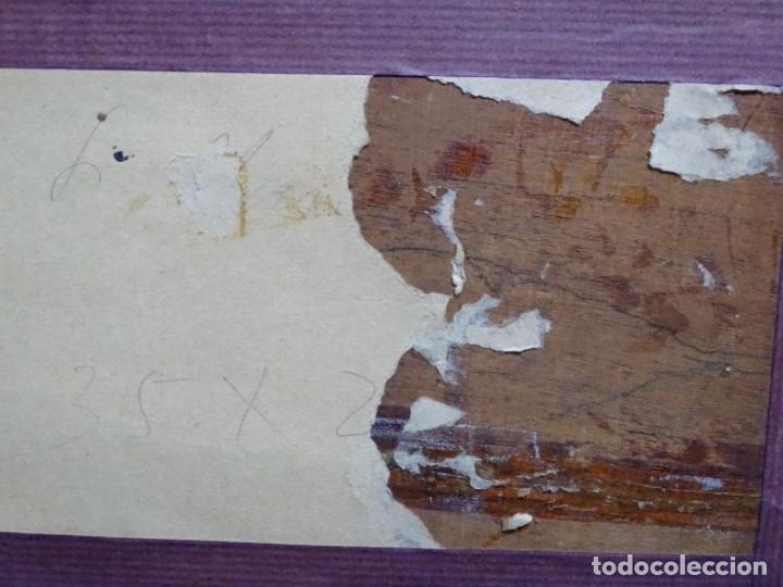 Arte: ÓLEO SOBRE TABLA DE PERE VIVER I AYMERICH (1873-1917).PAISAJE DE SANT LLORENS - Foto 22 - 238150330