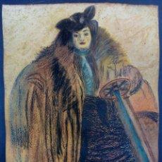 Arte: DIBUJO A PASTEL 1928CM.. Lote 238537460