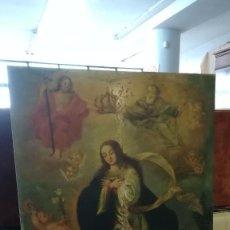 Arte: PINTURA OLEO LA INMACULADA SIGLO XVIII. Lote 238563330
