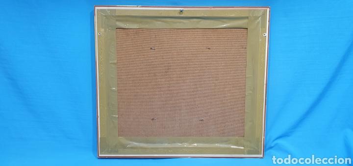 Arte: CUADRO DE PAISAJE - ROSIQUE - PINTOR MURCIANO - ÓLEO SOBRE TABLA, Medidas: 24×19 cm aprox - Foto 7 - 238579255