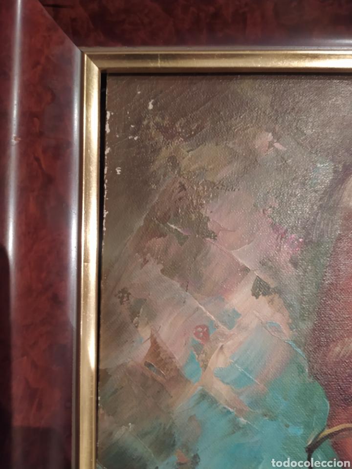 Arte: Precioso cuadro al óleo pintado al lienzo con firma del autor - Foto 2 - 238820230