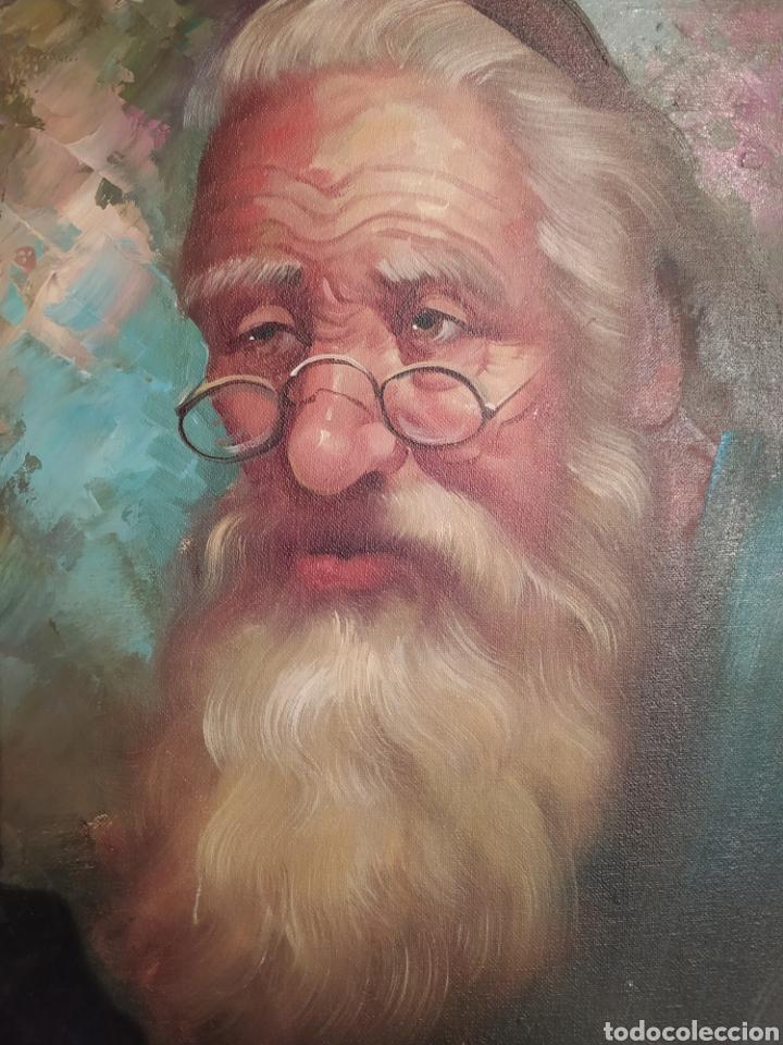 Arte: Precioso cuadro al óleo pintado al lienzo con firma del autor - Foto 3 - 238820230