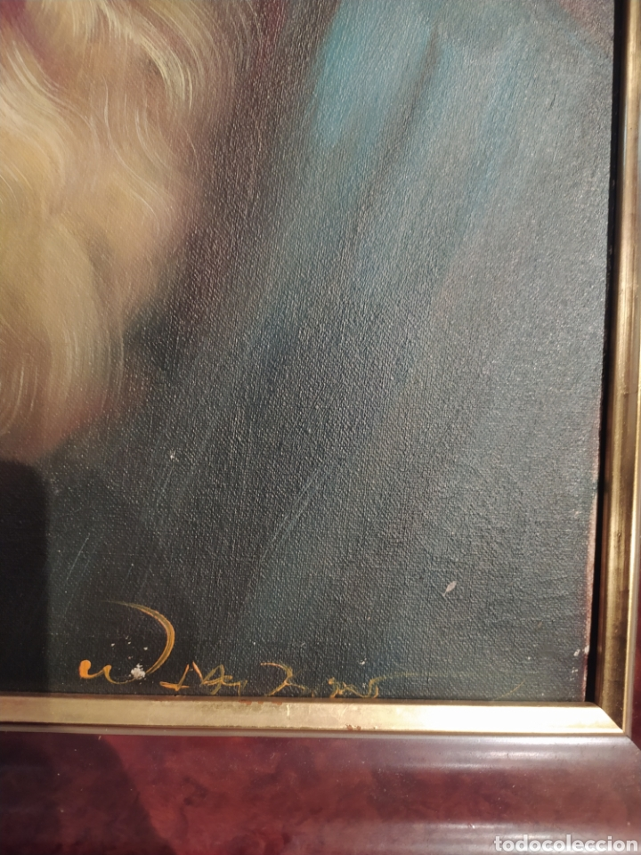 Arte: Precioso cuadro al óleo pintado al lienzo con firma del autor - Foto 4 - 238820230