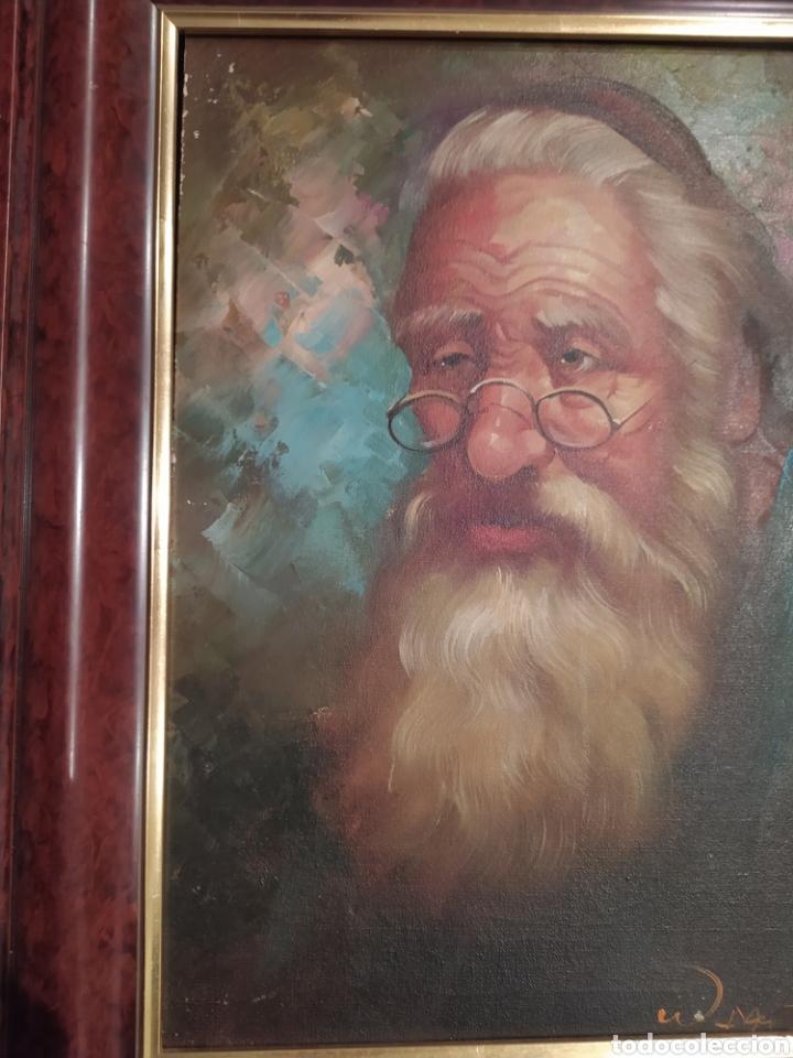 Arte: Precioso cuadro al óleo pintado al lienzo con firma del autor - Foto 5 - 238820230