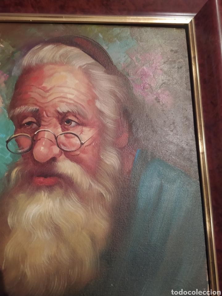 Arte: Precioso cuadro al óleo pintado al lienzo con firma del autor - Foto 6 - 238820230