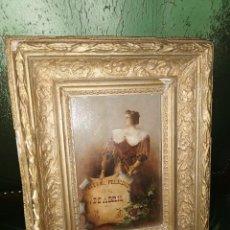 Arte: CUADRO CONMEMORATIVO ÓLEO SOBRE TABLA.1894.ARGENTINA. Lote 95133883