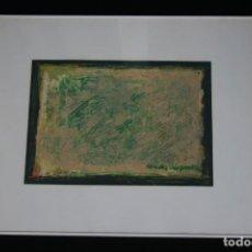 Arte: CONCHA SISQUELLA ( BARCELONA 1926 ),EXCELENTE TECNICA MIXTA , FIRMADA Y PERFECTAMENTE ENMARCADA. Lote 239481940