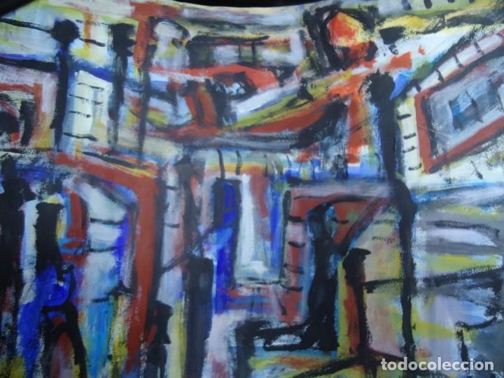 Arte: ALFREDO ROLDÁN GUASCH SOBRE PAPEL MIDE 50 X 56 cm MAGNIFICA OBRA DE UNA BUENA ÉPOCA Y GRAN TAMAÑO - Foto 2 - 239644130