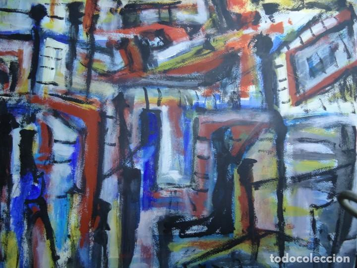 Arte: ALFREDO ROLDÁN GUASCH SOBRE PAPEL MIDE 50 X 56 cm MAGNIFICA OBRA DE UNA BUENA ÉPOCA Y GRAN TAMAÑO - Foto 3 - 239644130