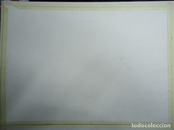 Arte: ALFREDO ROLDÁN ACUARELA SOBRE PAPEL MIDE 32 X 46 cm MAGNIFICA OBRA REALISTA 2007 firmada - Foto 5 - 239645630