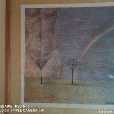 Arte: CUADRO DE JOSEP MARIA SUBIRACHS. Lote 239806785