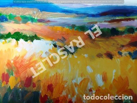 Arte: CUADRO -PAISATGE -OLEO SOBRE TELA - JOSEP MARFA GUARRO - BARCELONA - ANO 1975 - Foto 9 - 240023385