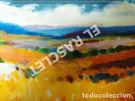Arte: CUADRO -PAISATGE -OLEO SOBRE TELA - JOSEP MARFA GUARRO - BARCELONA - ANO 1975 - Foto 11 - 240023385