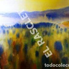 Arte: CUADRO -ACUARELA PAISATGE - JOSEP MARFA GUARRO - BARCELONA -. Lote 240031445