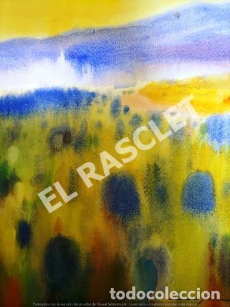 Arte: CUADRO -ACUARELA PAISATGE - JOSEP MARFA GUARRO - BARCELONA - - Foto 2 - 240031445